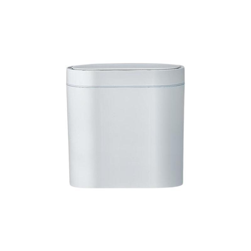 感应垃圾桶 6.5L 白色