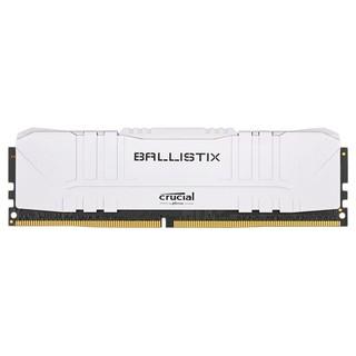 crucial 英睿达 铂胜系列 DDR4 3200MHz 白色 台式机内存 16GB 8GB*2 BL2K8G32C16U4W