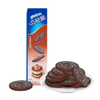 OREO 奥利奥 巧轻脆 夹心饼干 提拉米苏味 95g