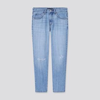 UNIQLO 优衣库 438682 女士休闲窄口牛仔裤