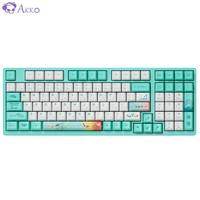 Akko 艾酷 AKKO 3098 莫奈之池机械键盘  98键  TTC金红轴