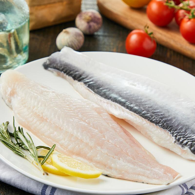 京东生鲜 京东海外直采 越南巴沙鱼柳(带皮) 1kg 4片/袋 BAP认证 全程可追溯 鱼类 生鲜 海鲜 轻食(核酸已检测)