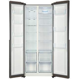 Haier 海尔 BCD-450WDSD 单循环 风冷对开门冰箱 450L 不锈钢色