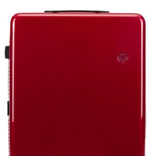 DEECOO FORTUNA系列 PC拉杆箱 DC800801 樱红 20英寸