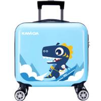 KAMIDA 咔米嗒 森林激萌系列 儿童旅行箱 bag18014 追梦小蓝龙 16寸