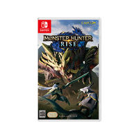 Nintendo 任天堂 港版/日版 Switch游戏卡带《怪物猎人 崛起》中文