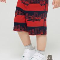 Gap 盖璞 布莱纳系列 玩童之选 棉质松紧腰短裤