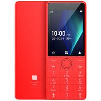 QIN 多亲 1s+ 移动联通版 4G手机 521MB+4GB 中国红