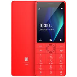QIN 多亲 1s  移动联通版 4G手机 521MB 4GB 中国红