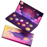 COCONONO 中国火箭联名星球九色眼影盘(赠 化妆刷4件套+化妆镜)