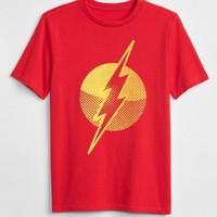Gap 盖璞 正义联盟系列 圆领短袖T恤