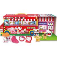 Hello Kitty 凯蒂猫 KT-8631 巴士小麦泥套装