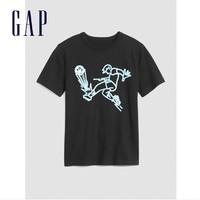 Gap 盖璞 儿童圆领短袖T恤