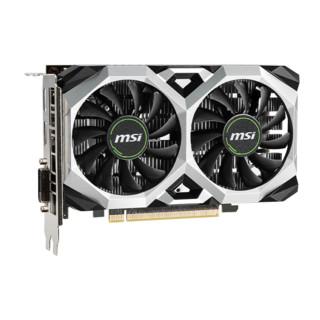 MSI 微星 GeForce GTX 1650 D6 VENTUS XS OC 显卡 4GB
