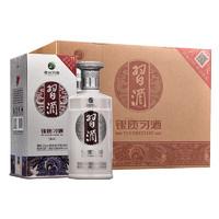 XIJIU 习酒 银质习酒 53度 酱香型白酒 500ml*6瓶