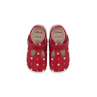 Clarks 其乐 迪士尼米妮联名 婴儿软底学步鞋