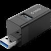 ORICO 奥睿科 MINI-U32-BK-BP USB3.0 三口集线器 黑色