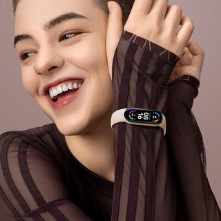 MI 小米 手环6 智能手环 黑色 黑色硅胶表带(血氧)