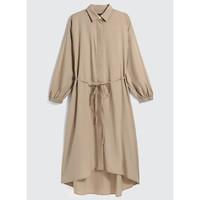 Gap 盖璞 000593826 女款衬衫式长袖连衣裙