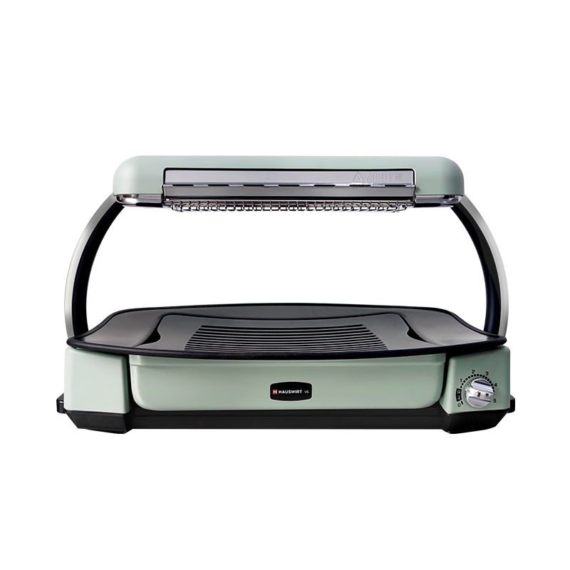 Hauswirt 海氏 V6无烟快烤炉电烤盘电烤炉家用烧烤炉烤肉炉烤串机照烧烤肉盘