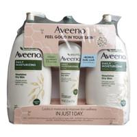 Aveeno 艾惟诺 燕麦系列 孕产妇润肤乳套装 532ml*2瓶+71g