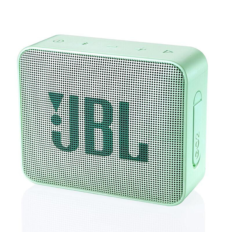 JBL 杰宝 GO2 户外 蓝牙音箱 薄荷绿