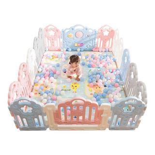 auby 澳贝 儿童游戏围栏 宝宝爬行森林乐园14+2