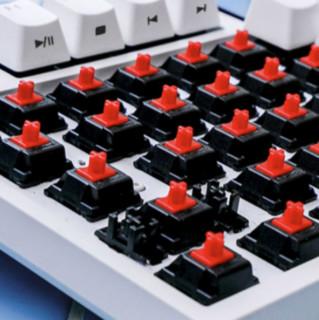 DURGOD 杜伽 TAURUS K310W 104键 2.4G蓝牙 多模无线机械键盘 深空灰 Cherry静音红轴 无光