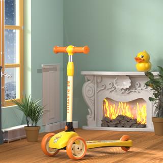 PLUS会员 : luddy 乐的 小黄鸭系列 1010 儿童滑踏板车