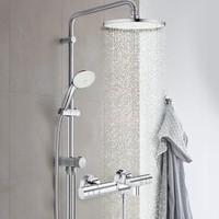 GROHE 高仪 26452001+34215002 恒温混水阀淋浴花洒套装