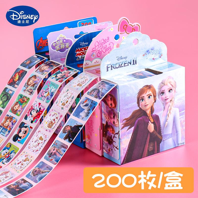 Disney 迪士尼 DM20755A 卡通贴纸 200贴/盒