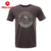 Marmot 土拨鼠 H54209 男士休闲短袖