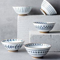 IJARL 亿嘉 和风系列 陶瓷碗 5英寸 5个装