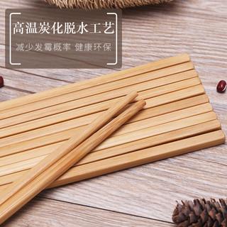 SUNCHA 双枪 KZ1011 竹工艺筷子10双装