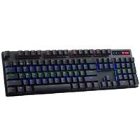 RAPOO 雷柏 V500PRO 多模版 机械键盘 104键 黑轴
