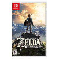 Nintendo 任天堂 Switch NS游戏 塞尔达传说 荒野之息 林克 旷野之息 中文