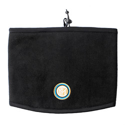 inter 国际米兰 俱乐部官方新品冬季男子二合一抓绒帽子运动户外跑步骑行围脖 黑色