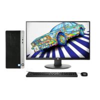 HP 惠普 ProDesk 480 G4 23.8英寸 台式机 黑色(酷睿i3-7100、核芯显卡、4GB、1TB HDD、风冷)