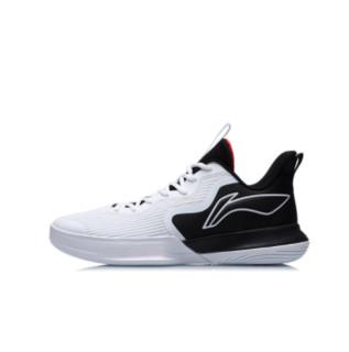 LI-NING 李宁 闪能 男子篮球鞋 ABCR007-3 标准白/黑色