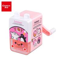 PLUS会员:Comix 齐心 EX71 波乐熊系列 粉色 卷笔机