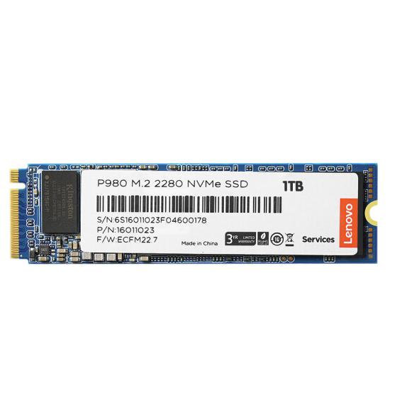 Lenovo 联想 P980 NVMe M.2 固态硬盘 1TB (PCI-E3.0)