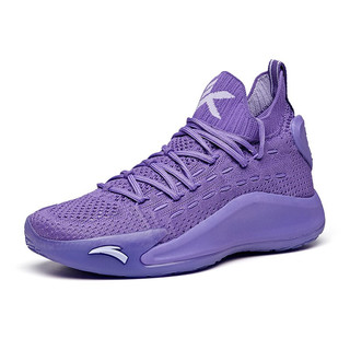 ANTA 安踏 KT 5 百雀羚联名款 女子篮球鞋 122021102-6 紫色 36.5