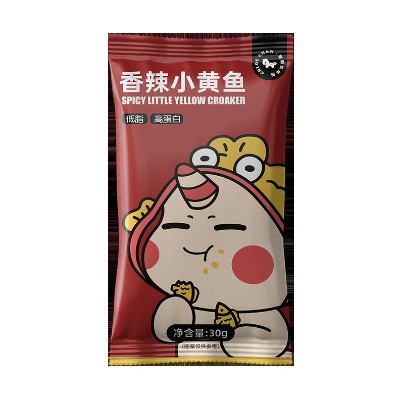 独角兽暴肌厨房 香辣小黄鱼 30g*8包