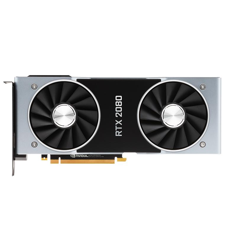 NVIDIA 英伟达 GeForce RTX2080 Founders Edition 显卡 8GB