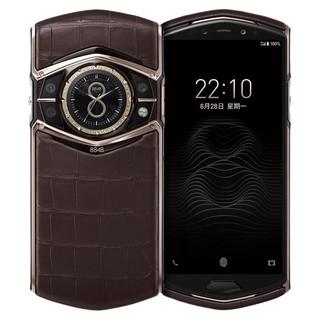 8848 M6 私人定制鳄鱼皮 5G手机 12GB 1TB 页岩棕
