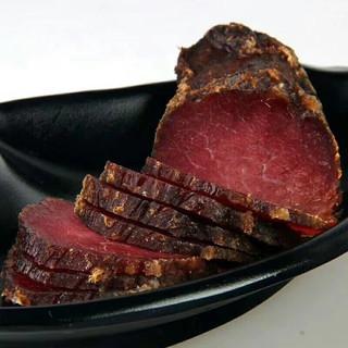 PLUS会员 : 庆仔 正宗湖南柴火烟熏腊味  腊牛肉250g*2袋