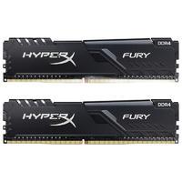 Kingston 金士顿 Fury系列 DDR4 3733MHz 黑色 台式机内存 16GB 8GB*2 HX437C19FB3K2/16