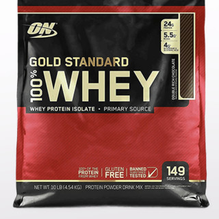 OPTIMUM NUTRITION 奥普帝蒙 金标乳清蛋白粉 巧克力薄荷味 10磅