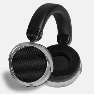 HIFIMAN 海菲曼 HE400SE 隐形磁体版 耳罩式头戴式有线耳机 黑色 3.5mm
