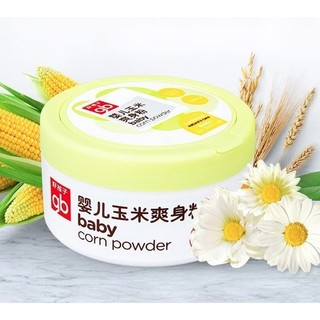 gb 好孩子 婴幼儿植物精华玉米爽身粉 120g